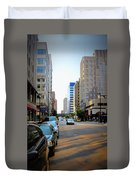 Wisconsin Avenue 2 Duvet Cover