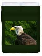 Wisconsin Bald Eagle Duvet Cover