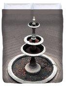 Wishing Fountain Duvet Cover