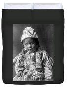 Wishram Girl 1909 Duvet Cover