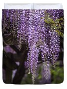 Wisteria Droplets Duvet Cover
