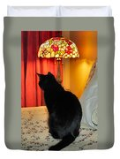 Witches Cat Duvet Cover