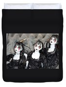 Witches Of Hallow's Eve Duvet Cover