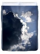 With Thunder He Speaks Duvet Cover