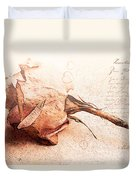Withered Dreams Duvet Cover