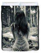 Woman Fern 2 Duvet Cover