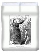 Woman Preaching, 1888 Duvet Cover