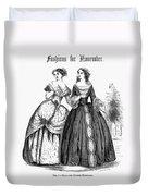 Womens Fashion, 1851 Duvet Cover
