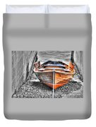 Wood Boat Duvet Cover