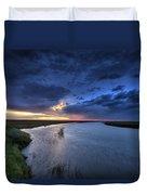 Wood River Saskatchewan Canada Duvet Cover