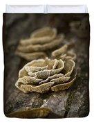 Wood Shrooms Duvet Cover
