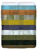 Wooden Abstract L Duvet Cover