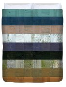Wooden Abstract Lv Duvet Cover