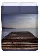 Wooden Bridge Duvet Cover by Joana Kruse