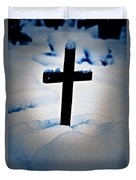 Wooden Cross Duvet Cover by Joana Kruse