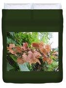 Wooden Hydrangea Duvet Cover