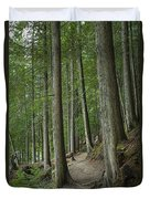 Woodland Forest Path Duvet Cover