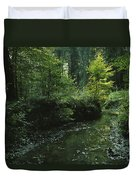 Woodland View With Stream Duvet Cover
