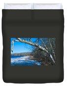 Wordens Pond Winter Duvet Cover