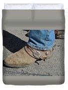 Work Boots Duvet Cover