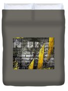Workers Built Roads Duvet Cover
