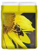 Working Bee Duvet Cover