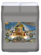 World Heritage Frescoes Of Wieskirche Church In Bavaria Duvet Cover