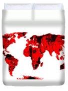 World Duvet Cover