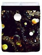 World Of Bubbles Duvet Cover