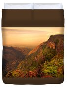 Worlds End. Horton Plains National Park. Sri Lanka Duvet Cover