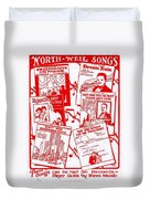 Worth Weil Songs Duvet Cover