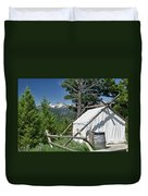 Wrangler Tent With A View Duvet Cover