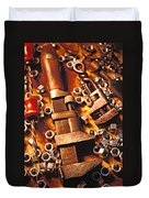 Wrench Tools And Nuts Duvet Cover