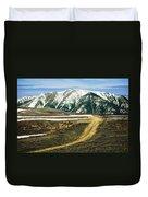 Wyoming Road Duvet Cover
