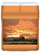 Wyoming Sunrise 1 Duvet Cover