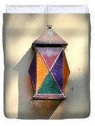 X Marks The Lamp Duvet Cover