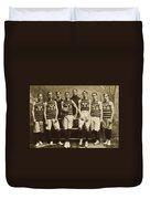 Yale Basketball Team, 1901 Duvet Cover