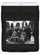 Yalta Conference, 1945 Duvet Cover