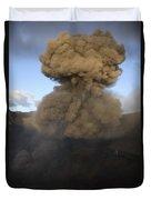 Yasur Eruption, Tanna Island, Vanuatu Duvet Cover