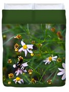 Yellow Banded Black Fly 1 Duvet Cover