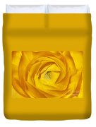 Yellow Beauty Duvet Cover