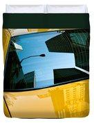 Yellow Cab Big Apple Duvet Cover