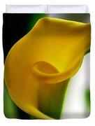 Yellow Calla Lilies Duvet Cover