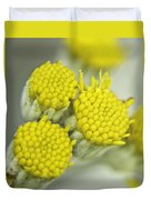 Yellow Cup Buds 1 Duvet Cover