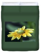 Yellow Daisy Duvet Cover