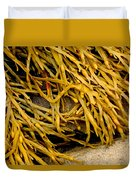 Yellow Kelp Duvet Cover