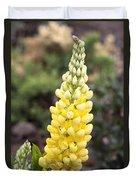 Yellow Lupine Duvet Cover