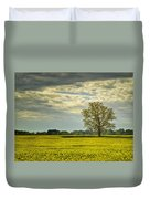 Yellow Meadow Duvet Cover