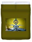 Yellow Roadster Duvet Cover