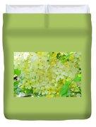 Yellow Shower Tree - 5 Duvet Cover